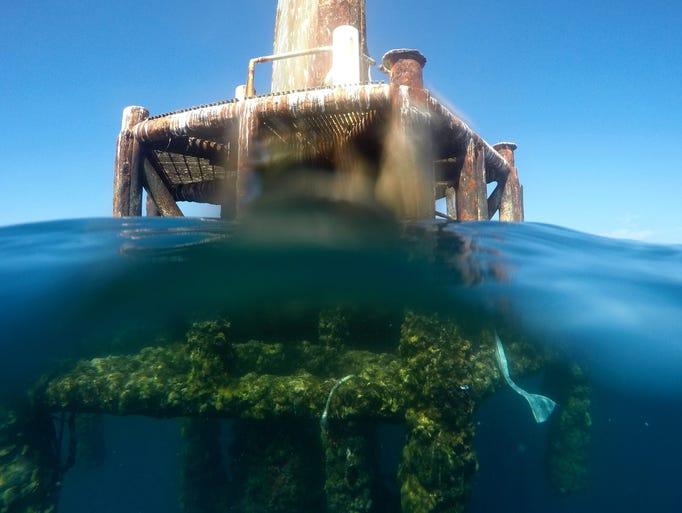 Fishermen hope Air Force won't remove reef-like radio towers in Gulf