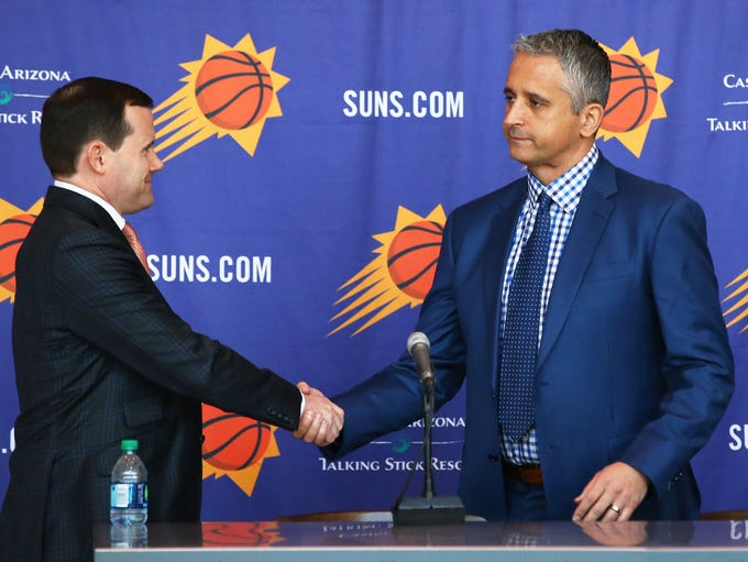Phoenix Suns General Manager Ryan McDonough welcomes
