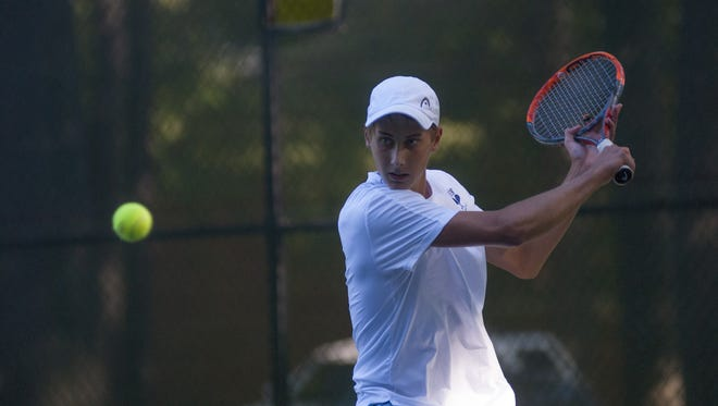 Port Huron Northern's Chris Adams is one of four finalists for the Times Herald Tennis Player of the Year.