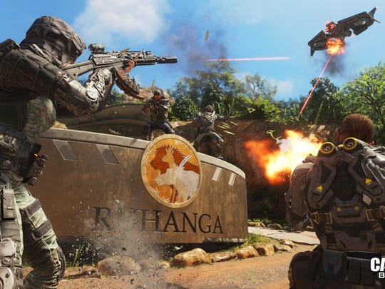 The video game Call of Duty: Black Ops III, includes