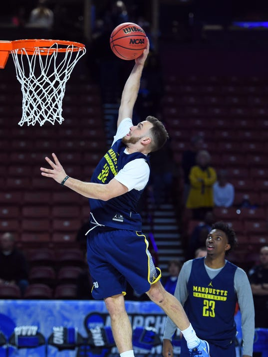 NCAA Basketball: NCAA Tournament-Greenville Practice