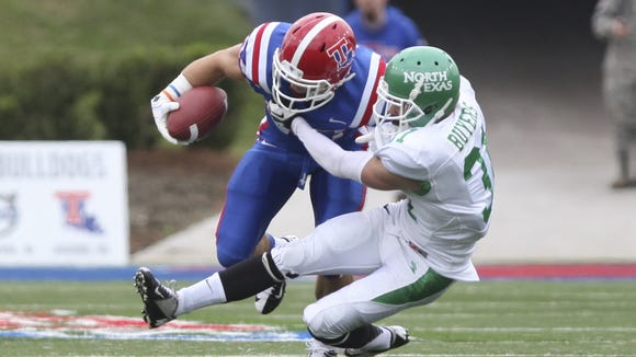 North Texas spoiled Louisiana Tech's homecoming in