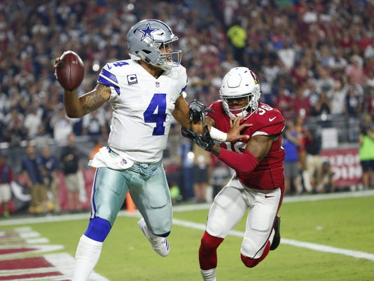 Cowboys vs Cardinals MNF