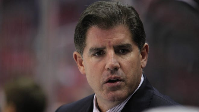 Peter Laviolette was hired on May 6 but had spent the following weeks at the World Championships. He'll meet Nashville fans on Sunday.