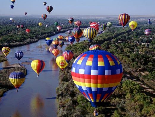 The 2013 Albuquerque International Balloon Fiesta will take place Oct. 5-13.