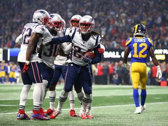 49229fcfa Super Bowl  New England Patriots win over L.A. Rams was lowest ...