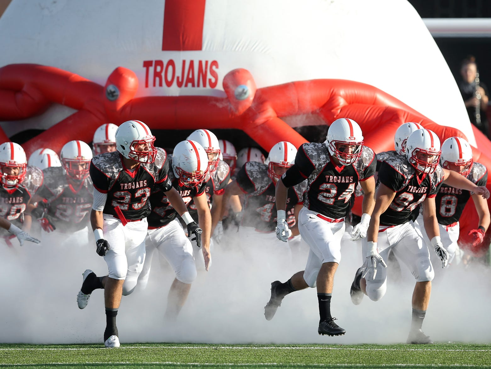 Center Grove, the defending state champion, won four games last season by 30 points or more.