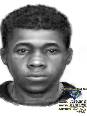 Morris County authorities released a sketch of a man alleged to have attempted to enter a Morris Township home, then shot at a dog that confronted him before he fled. August 3, 2018