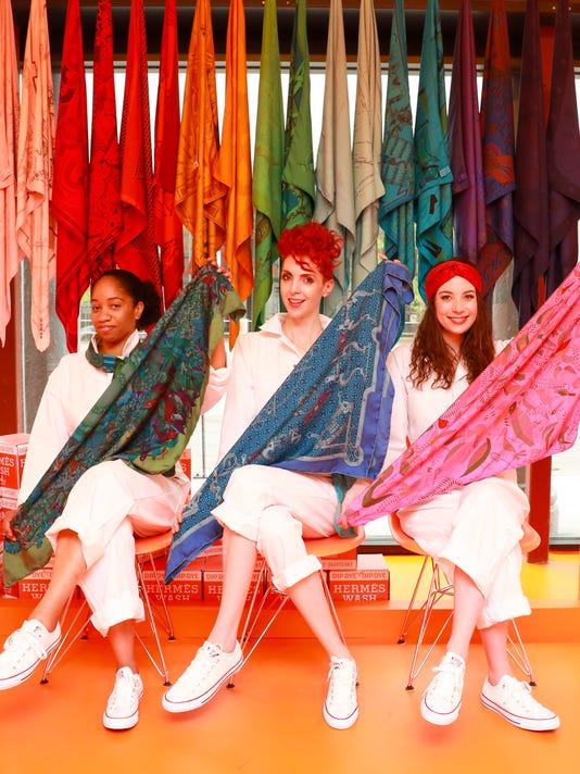 Hermèsmatic : Retail Pop-up + Dip-Dye Event