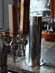 Wine on tap is growing in popularity in larger cities because it reduces unwanted exposure to light and air, which diminishes wine's flavor. Each keg of wine holds about 25 bottles of wine.