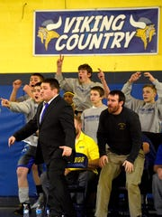 The Northern Lebanon wrestling team had a lot to be excited about on Wednesday night, rolling over Camp Hill and Hamburg to earn a spot in Saturday's Class AA district title match.