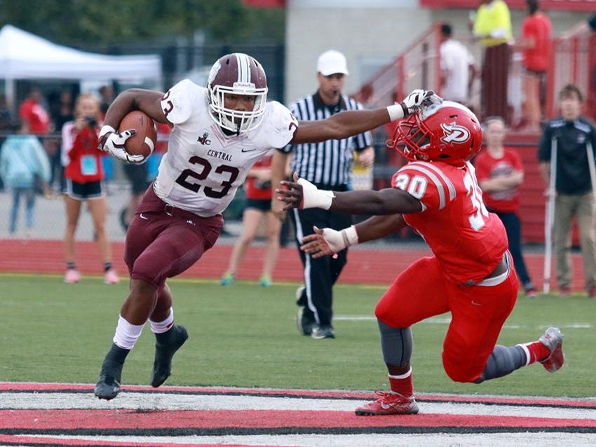 Lawrence Central RB Gerrid Doaks has been putting up big numbers so far in 2015.
