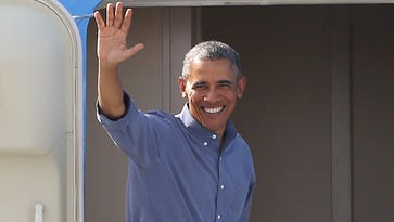 Former Pres. Barack Obama hits the gym, golfs in Rancho Mirage for President's Day weekend