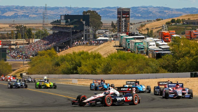 Will Power has won three of the past five IndyCar Series races at Sonoma Raceway.
