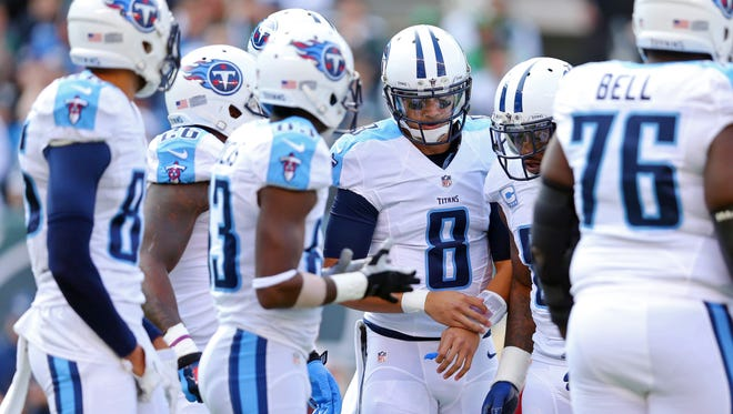 If the Titans do nothing else in their final three games, they must keep rookie quarterback Marcus Mariota healthy.