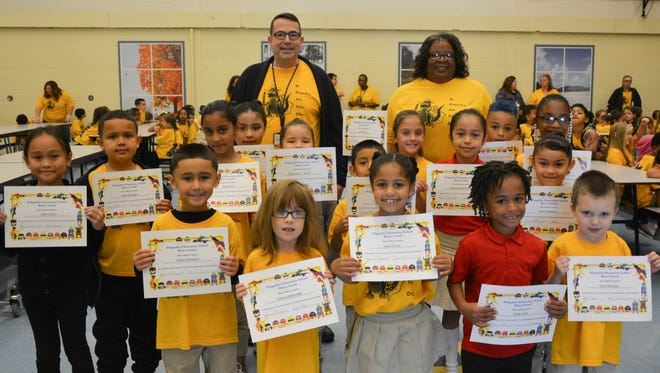 D'Ippolito Elementary School held its first BRAVO (Be Respectful And Value Others) awards ceremony on Oct. 4 to recognize students for their random acts of respect.