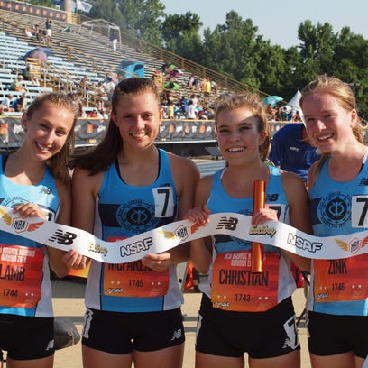 Granville's 6,400 relay won the New Balance National