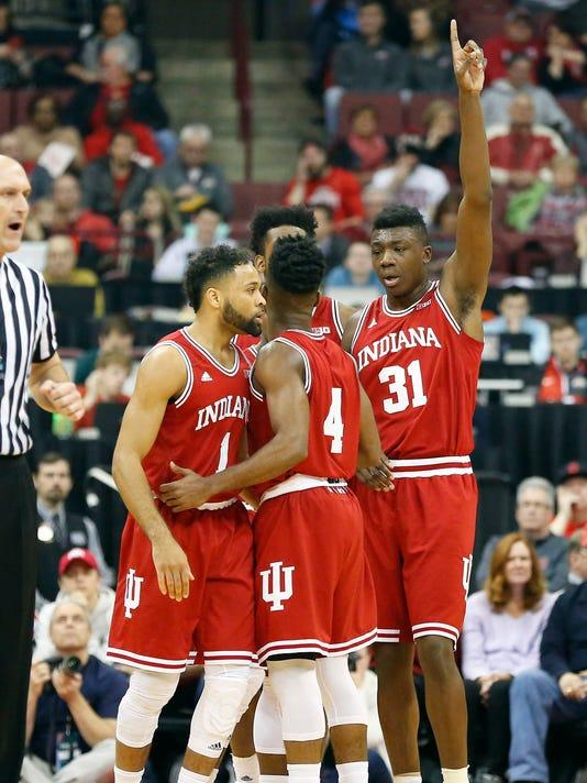 NCAA Basketball: Indiana at Ohio State