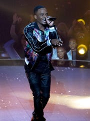 """THE FOUR: BATTLE FOR STARDOM: Contestant Rell Jerv in the """"Week Four"""" episode of FOX's all-new singing competition series, THE FOUR: BATTLE FOR STARDOM airing Thursday, Jan. 25 (8:00-10:00 PM ET/PT) on FOX."""