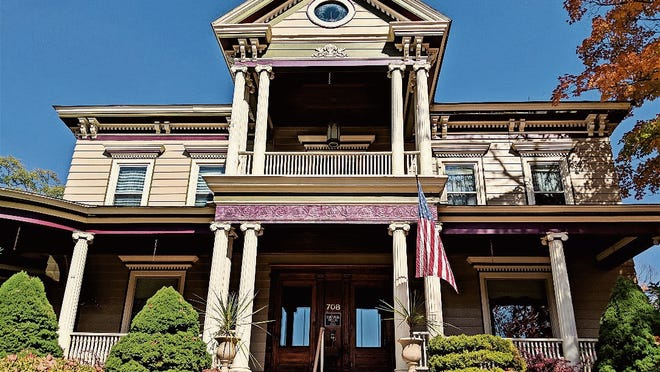 The Charles Sartwell mansion in Smethport, built in 1848.