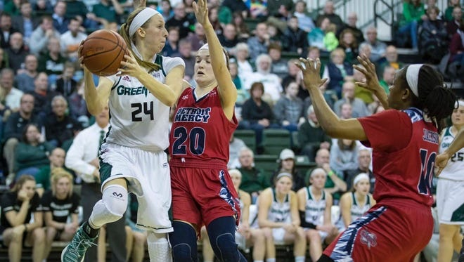 Former Green Bay Notre Dame and UWGB star Allie LeClaire has been hired as an assistant coach at Eastern Illinois University.
