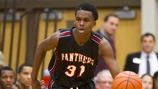 North Central's Kris Wilkes has the Hoosiers in his