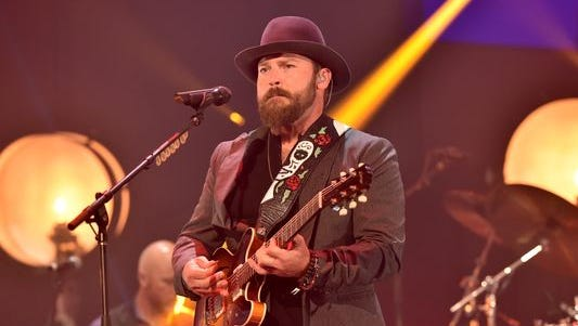 Recording artist Zac Brown of the Zac Brown Band performs onstage during the 2014 iHeartRadio Music Festival at the MGM Grand Garden Arena on September 19, 2014 in Las Vegas, Nevada.