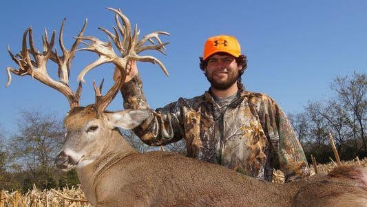 Gallatin resident Stephen Tucker killed this deer, which was a world record, on Nov. 7, 2016.