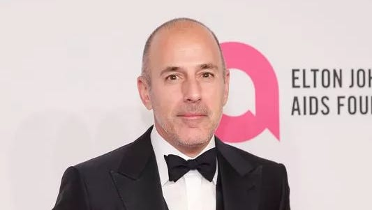 "Former ""Today"" anchor Matt Lauer was fired amid allegations of inappropriate sexual behavior in the workplace."