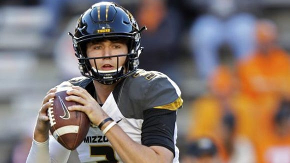 Missouri senior quarterback Drew Lock threw for 44