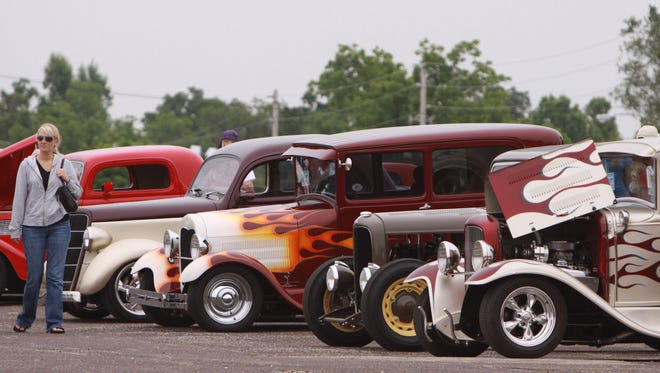 Scenes from a previous Mid-America Street Rod Nationals at the Ozark Empire Fairgrounds