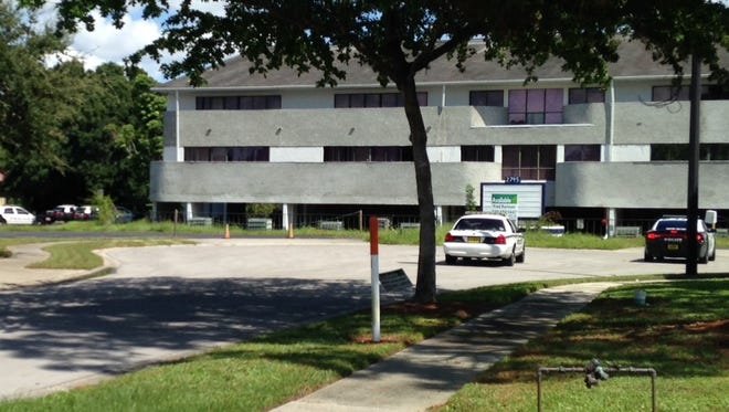Fort Myers police were at the scene of an abandoned office building at Evans Boulevard and Swamp Cabbage Court on Saturday afternoon, Sept. 27, 2014.