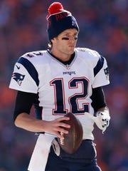 Tom Brady, QB de los Patriotas de Nueva Inglaterra.