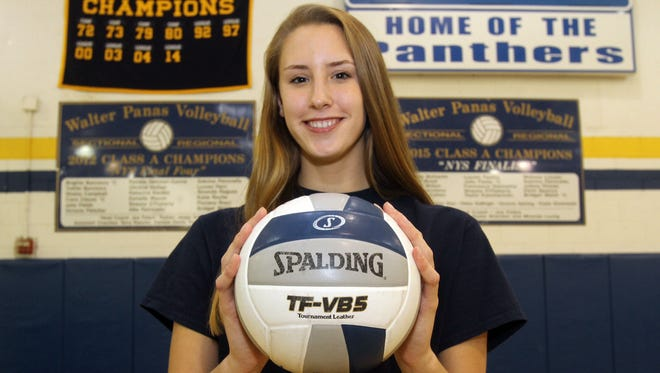 Water Panas' Yvette Burcescu is the Journal News/lohud Westchester/Putnam volleyball player of the year.