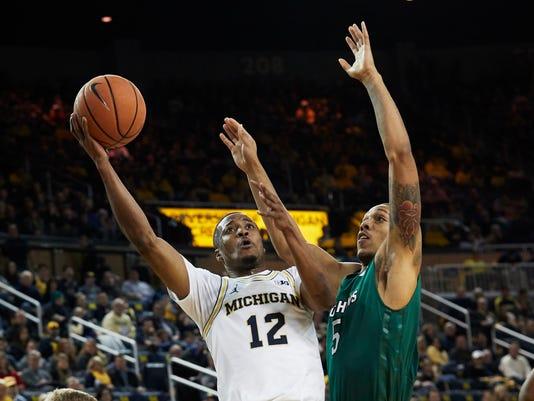 NCAA Basketball: Jacksonville at Michigan