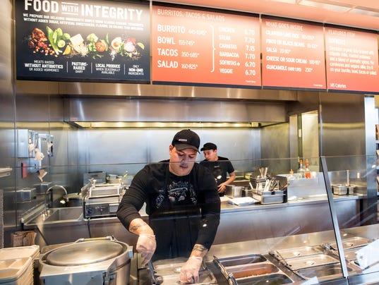 AP CHIPOTLE FOOD CHANGES A FILE F USA WA