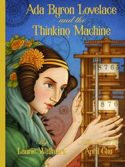 "The cover of ""Ada Byron Lovelace and the Thinking Machine,"""