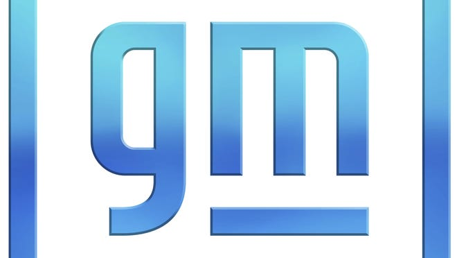 This image provided by General Motors shows the new company logo.  General Motors is changing its corporate logo and starting an electric vehicle marketing campaign as it tries to refurbish its image from a maker of gas-powered pickups and SUVs to a clean vehicle company. The 112-year-old Detroit automaker says, Friday, Jan. 8, 2021, the campaign will show GM's progressive company vision as it promises to roll out 30 new battery-powered vehicles globally by the end of 2025.