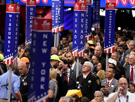 USP NEWS: REPUBLICAN NATIONAL CONVENTION A ELN USA OH