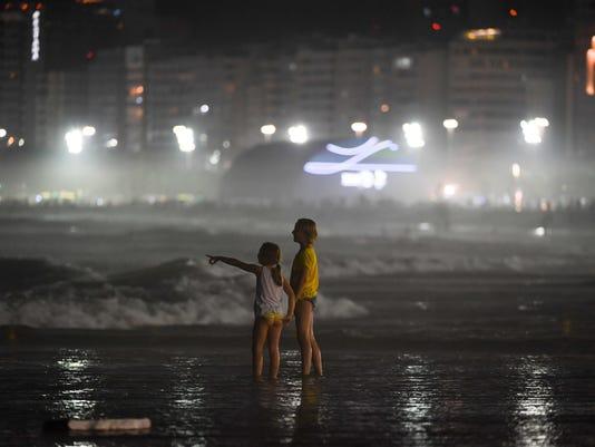 Copacabana Beach Night