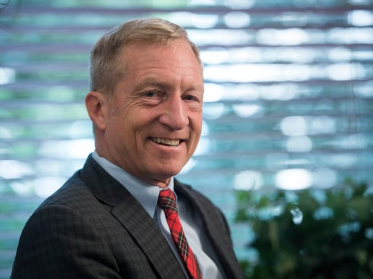 Donations in the 2018 election by Tom Steyer, a hedge fund manager and environmentalist, now top $29.4 million.