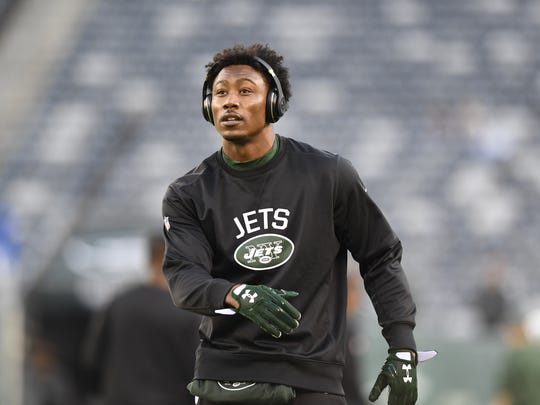 Jets receiver Brandon Marshall said quarterback Bryce Petty is the first one at the Jets' practice facility every day.