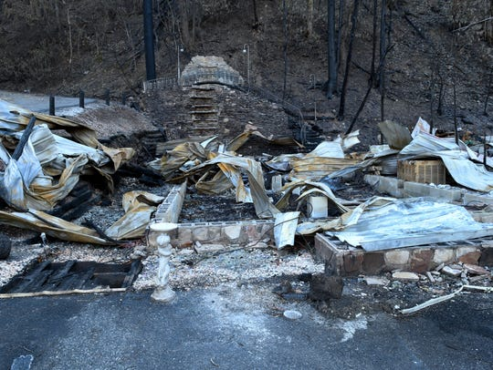 Cupid's Chapel of Love burned to the ground Nov 28