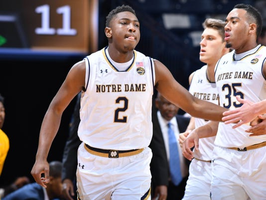 NCAA Basketball: No.Carolina A&T at Notre Dame