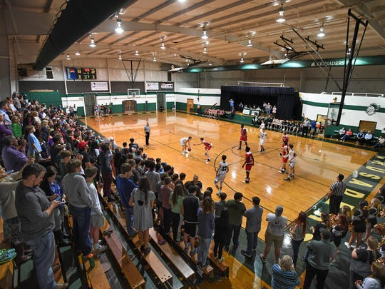 The Shannon Forest gym was a capacity on Tuesday, January
