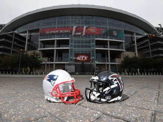 NFL: Super Bowl LI-Stadium Views