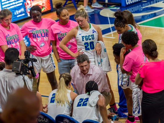 After FGCU coach Karl Smesko laid down the law, his Eagles played much better defense in Wednesday's home win against UNF.