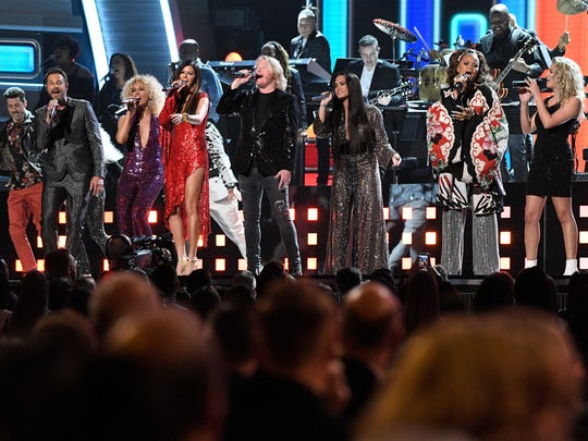Little Big Town, Demi Lovato, Andra Day and Tori Kelly,