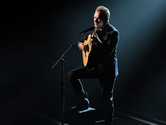 Sting performs the Oscar nominated song 'The Empty