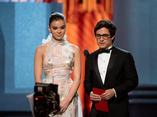 Presenters Hailee Steinfeld and Gael Garcia Bernal